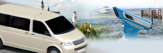 Luxury Class Van Service – Our special offer for demanding small groups comprises personal, individual pickup-service.